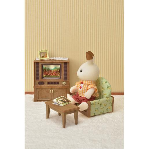 Sylvanian Families - Set Salon y TV