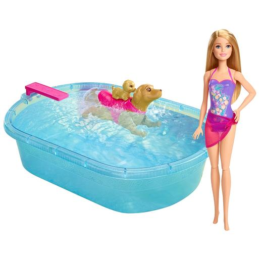 Barbie - Piscina de Perritos