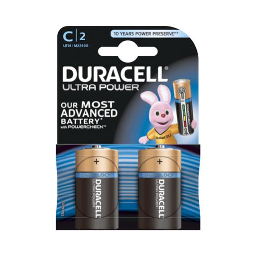 Duracell - Pack 2 Pilas C Ultra Power