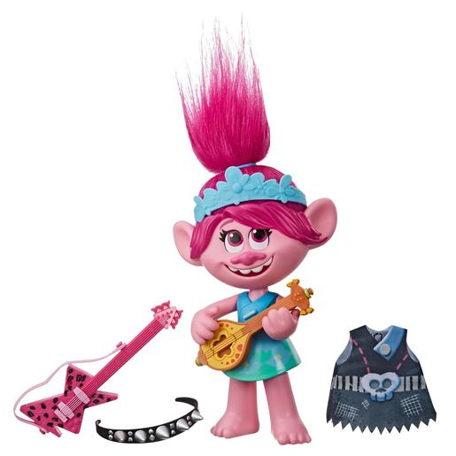 Trolls - Poppy - Muñeca Pop Rock Trolls 2