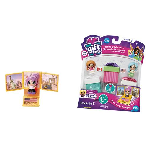 Gift'ems - Pack de 3 Cajitas (varios modelos)