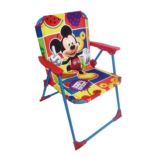 Mickey Mouse - Silla de Tela Plegable
