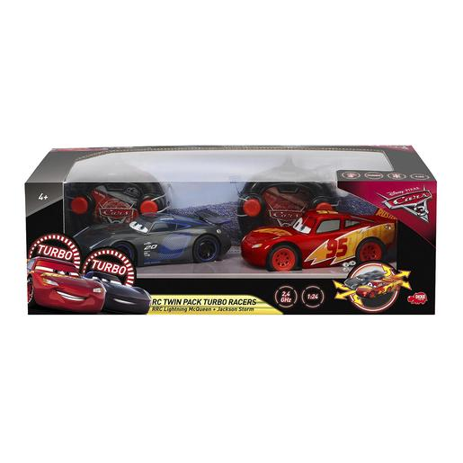 Cars - Pack Coches Radiocontrol Rayo McQueen y Jackson Storm