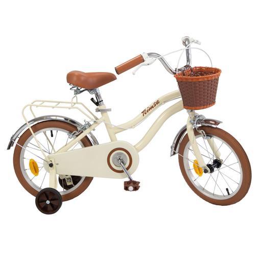 Bicicleta Vintage Marrón 16 Pulgadas