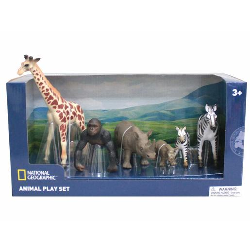 Set de 6 Figuras Animales Salvajes