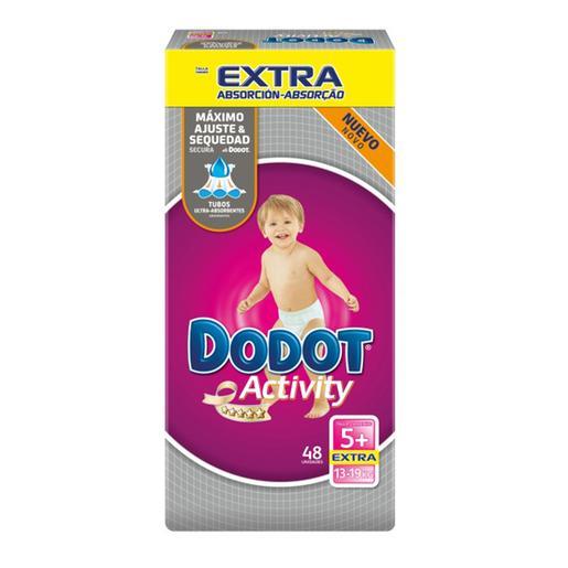 Dodot - Pañales Activity Extra T5 (12-17kg) 48 Unidades