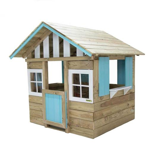 Casita madera Lollipop Azul