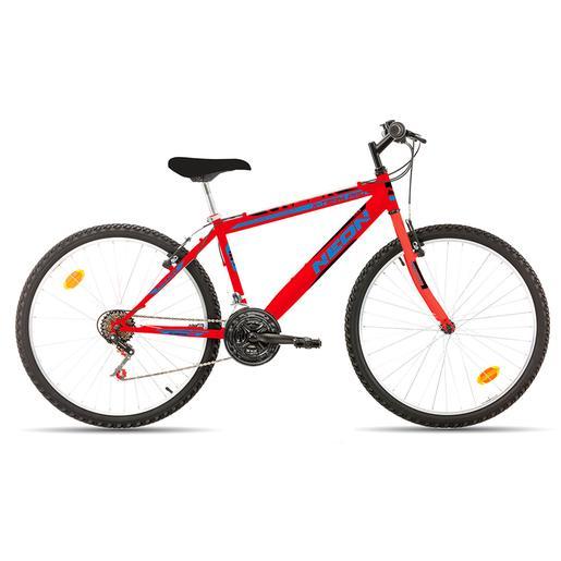 Avigo - Bicicleta Neón 26 Pulgadas Roja