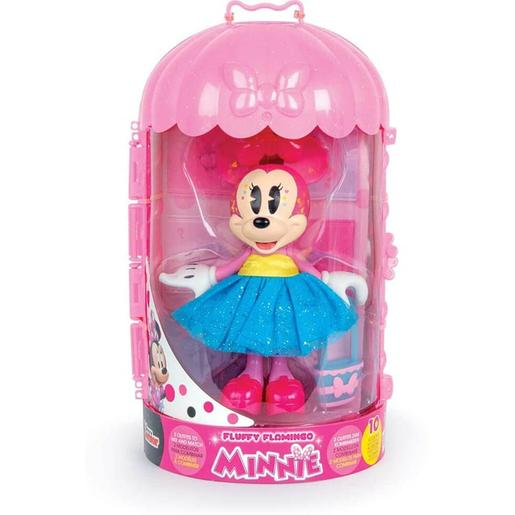 Minnie Mouse - Muñeca Minnie Fashion Fluffy Flamingo