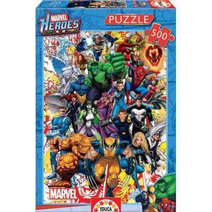 Educa Borras – Héroes Marvel – Puzzle 500 Piezas