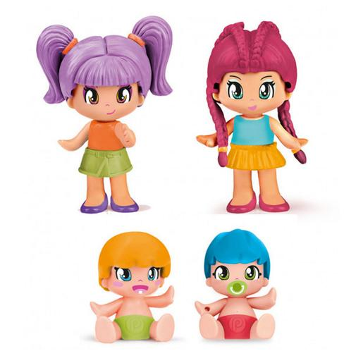 Pinypon - Pack 4 Figuras New Look