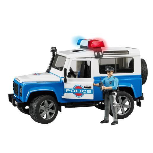 Bruder - Land Rover Policía con Sirena