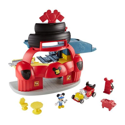 Fisher Price - Mickey Mouse - Garaje Mickey y Los Superpilotos