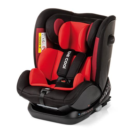 Be Cool - Silla de Coche Grupo 0+1-2-3 All Aboard Rojo/Negro