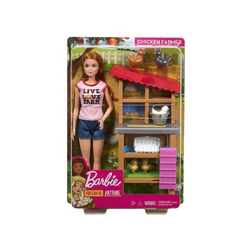 Barbie - Playset Granjera - Yo Quiero Ser