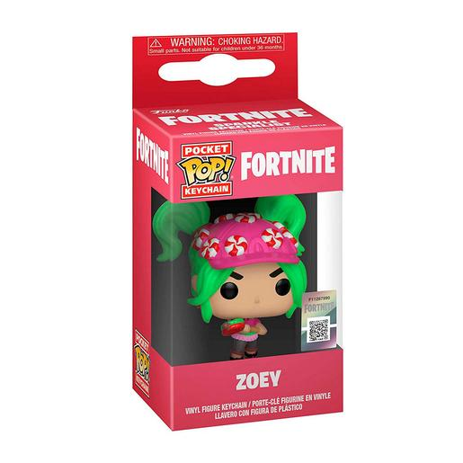 Fortnite - Zoey - Llavero POP Pocket