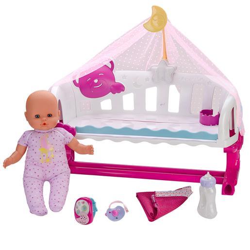 Nenuco - Cunita Duerme Conmigo con Baby Monitor