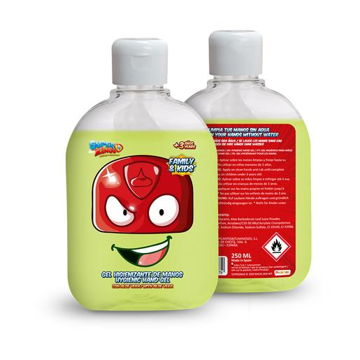 Superzings - Gel higienizante de manos hidroalcohólico 250 ml