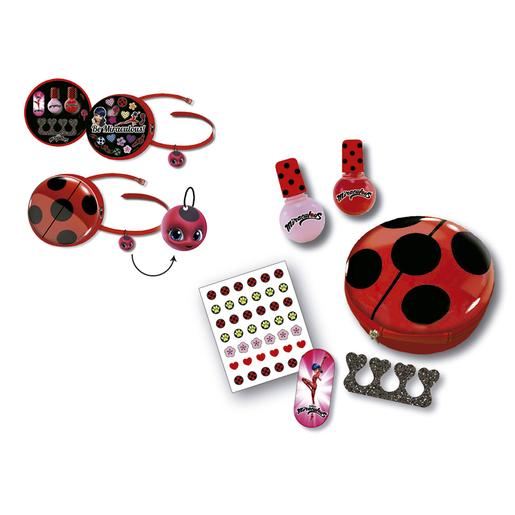 ToysRus|Ladybug - Bolsa de Belleza y Manicura