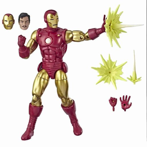 Iron Man - Figura 80 Años Marvel Legends Series