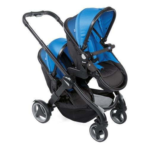 Chicco - Dúo gemelar de paseo Fully Twin Power Blue