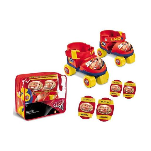Cars - Set de patines y protecciones Cars 3