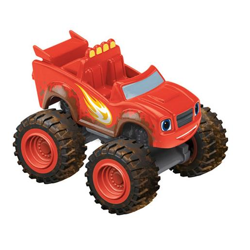 Fisher Price - Blaze Ruedas con Barro - Vehículo Blaze y los Monster Machines