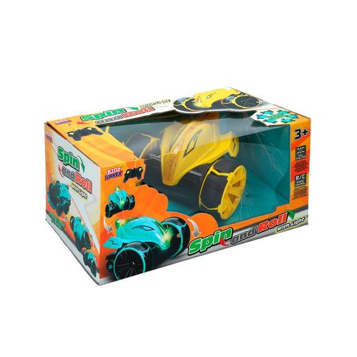Kidzcorner - Coche Spin and Roll Radiocontrol
