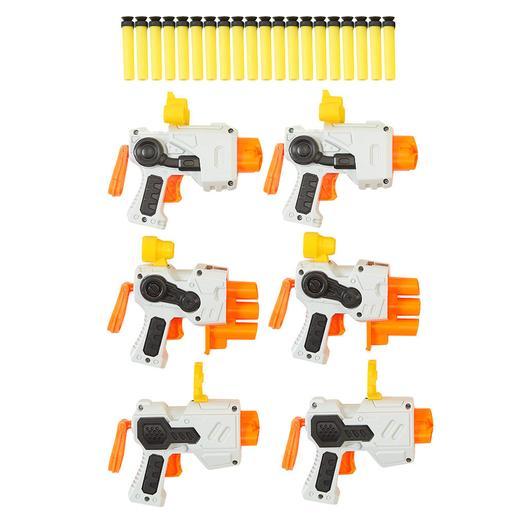 Air Zone - 6 Pistolas de Dardos (varios colores)