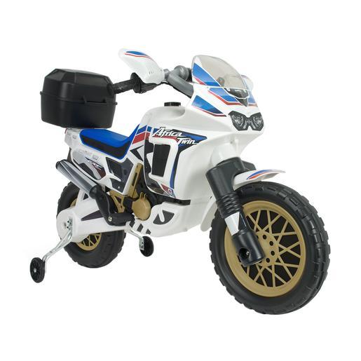 Injusa - Moto Honda Africa Twin White 6V