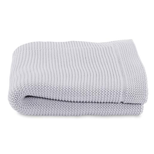Chicco - Manta Tricot Light grey