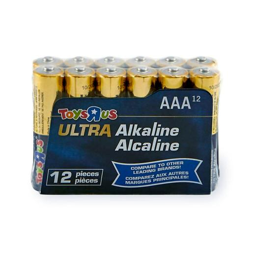 Ultra - Pack 12 Pilas AAA Alcalinas