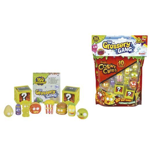 Grossery Gang - Pack Corny Chips 10 Figuras (varios modelos)