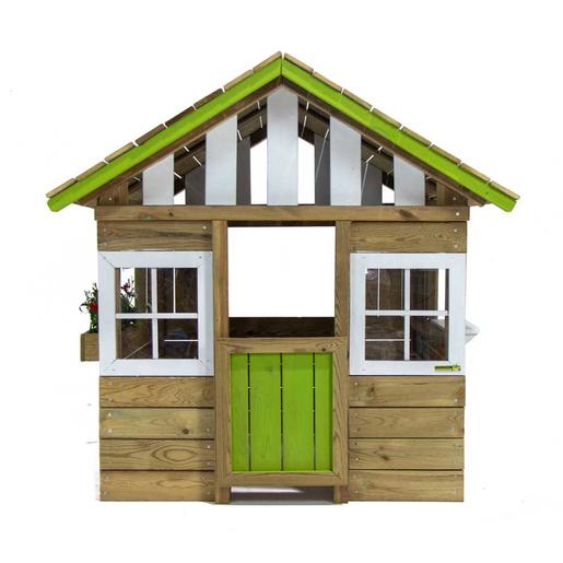 Casita madera Lollipop Verde