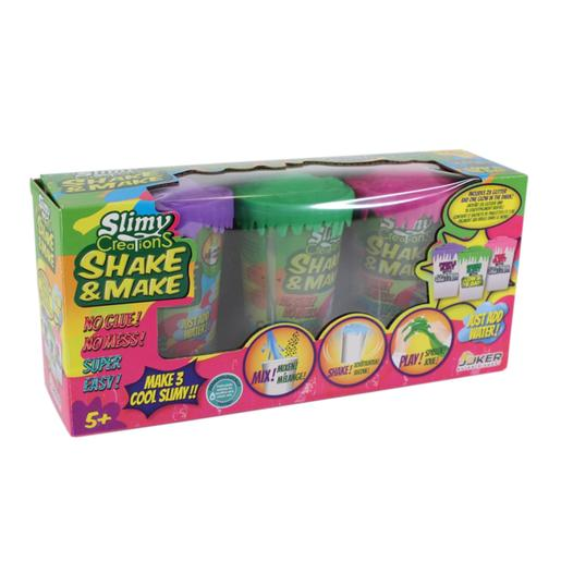 Slimy Creations Shake & Make Exclusivo