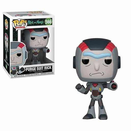 Rick y Morty - Purge Suit Rick - Figura Funko POP
