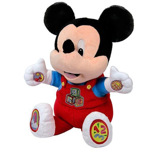 Disney baby - Mickey Mouse - Peluche Educativo Baby Mickey