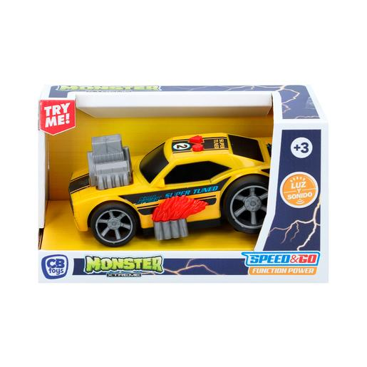 Monster Xtreme - Coche Eléctrico Motor en Llamas Speed & Go Function Power (varios colores)