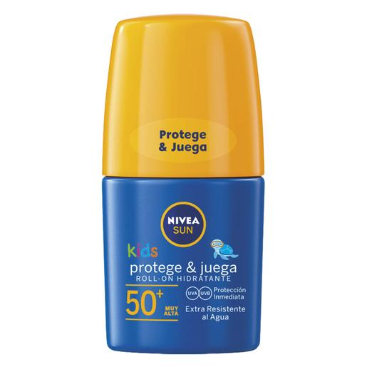 Nivea - Roll-On Solar FP50+ Protege y Juega