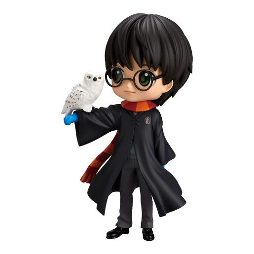 Harry Potter - Harry con Hedwig - Figura Q Posket