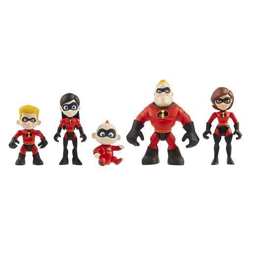 Los Increíbles - Pack Familiar Figuras 8 cm