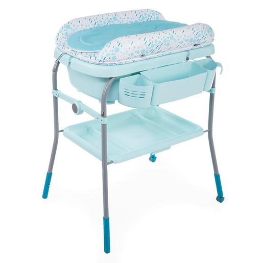 Chicco - Bañera Cambiador Cuddle & Bubble Dusty Green