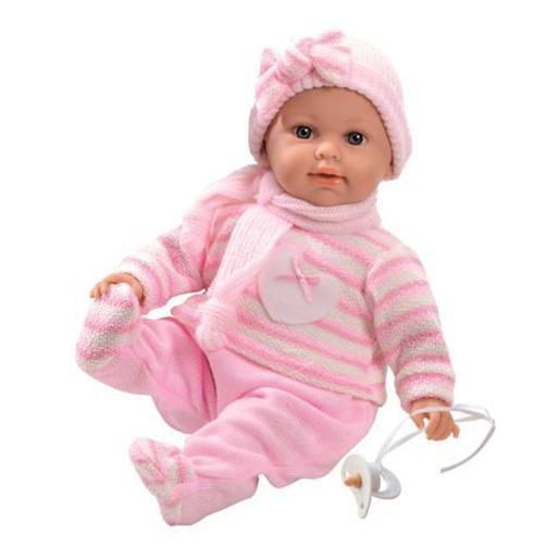 Qweenie Dolls Prestige - Muñeco Bebé 45 cm (varios colores)