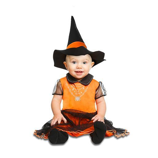 Disfraz Bebé - Brujita Naranja 7-12 meses
