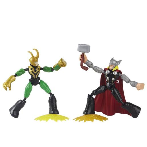 Los Vengadores - Thor VS Loki Bend and Flex