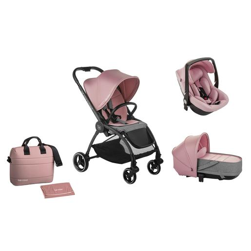 Be Cool - Trío Outback Crib One Rosa