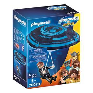 Playmobil – Rex Dasher con Paracaídas Playmobil The Movie – 70070