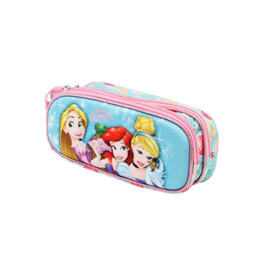 Princesas Disney - Estuche portatodo doble 3D Beautiful