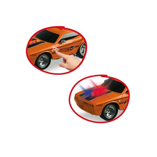 Hot Wheels - Mustang Luces y Sonidos Radio Control