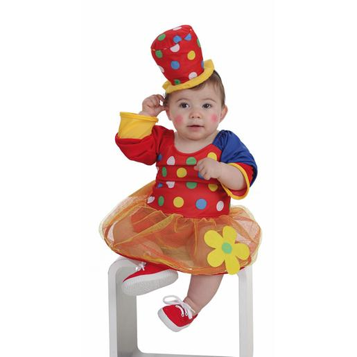 Disfraz Bebé - Payasa Pepona 0-12 Meses